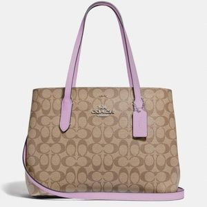 NWT Coach Avenue Carryall In Signature Tote